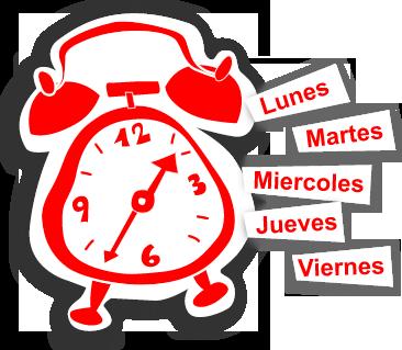 Cambiar horarios progresivamente - Uniformas
