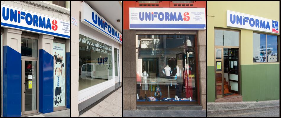 Tiendas Uniformas