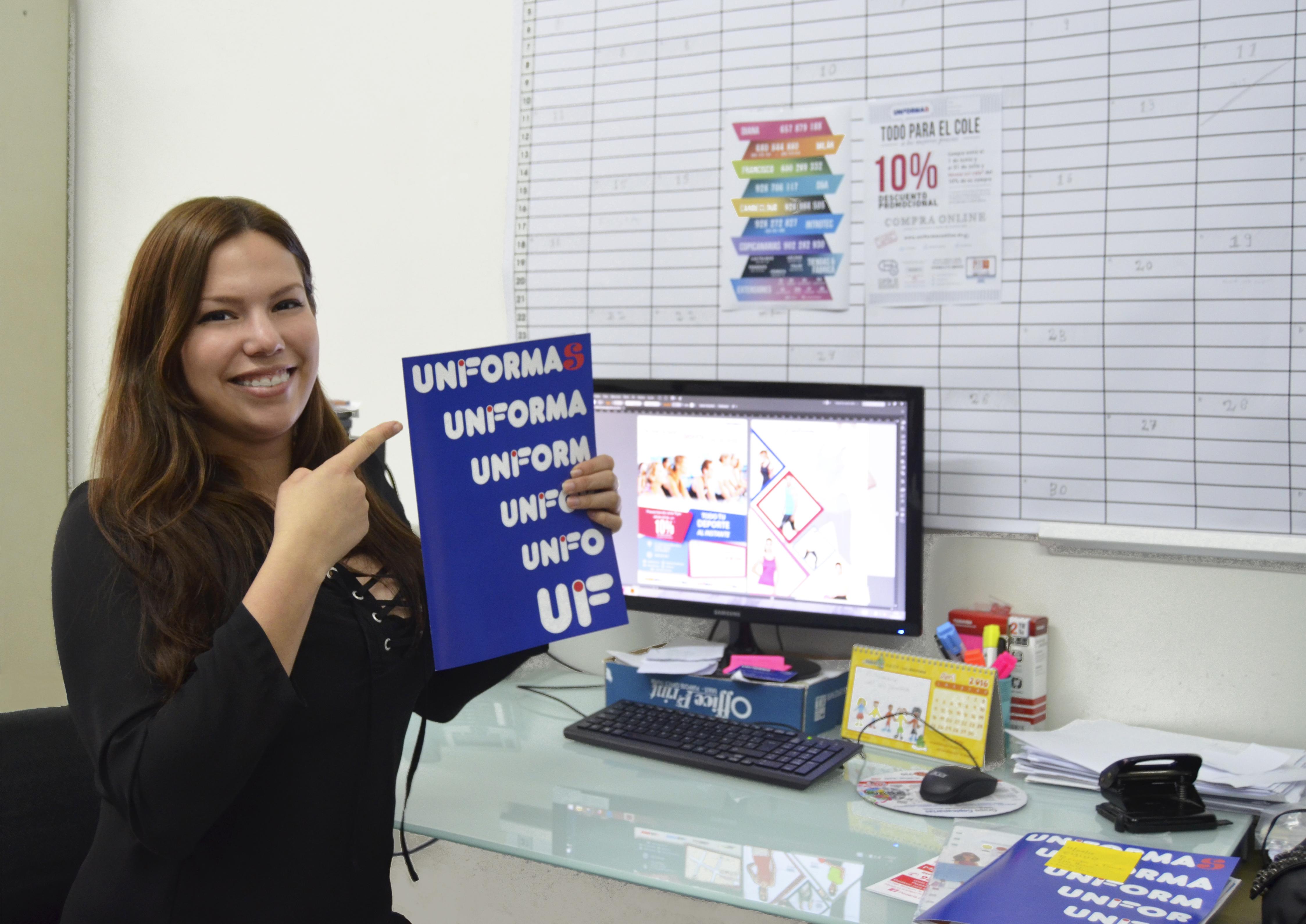 Nuestra Diseñadora, Leah - Uniformas