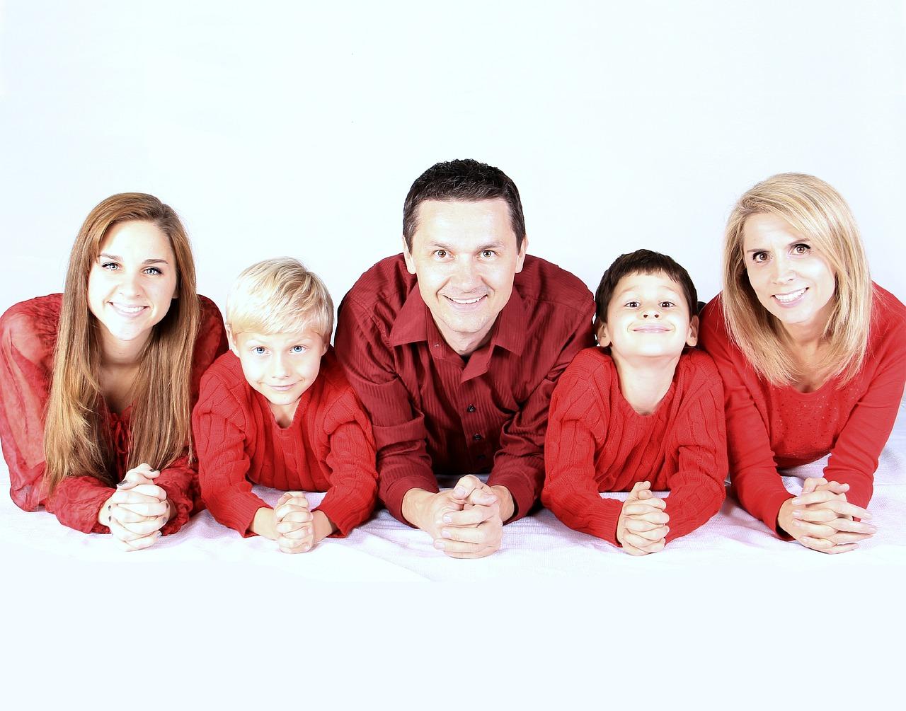 Familia numerosa - Uniformas
