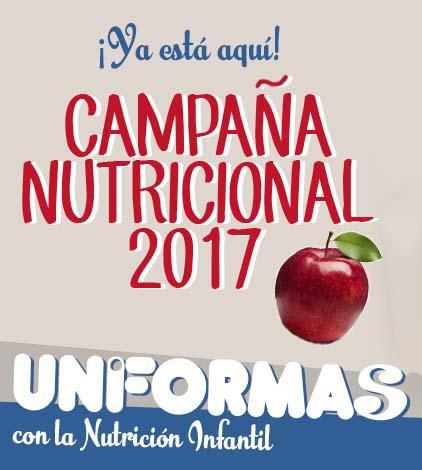 Campaña nutricional infantil Uniformas